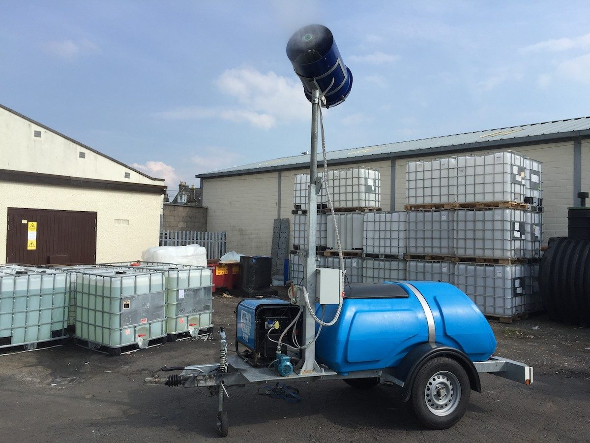 Odour and Dust Control Equipment to Rent