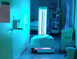 UVC Light in hospital