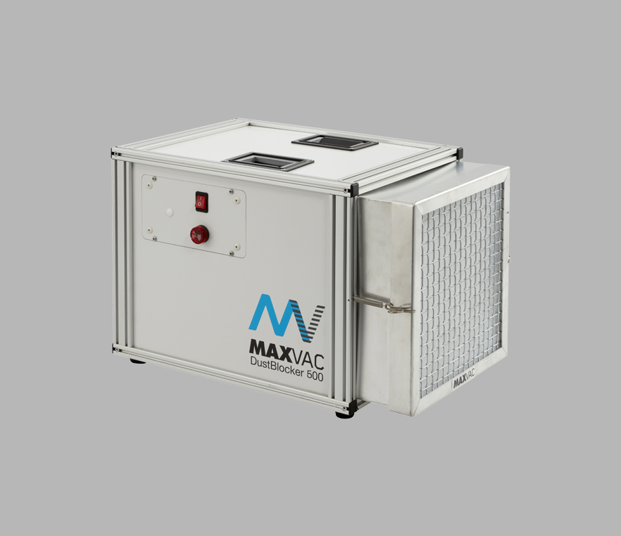 MaxVac Dust Management Equipment